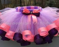 doc mcstuffins ribbon pink and purple ribbon trimmed tutu pink and purple tutu doc