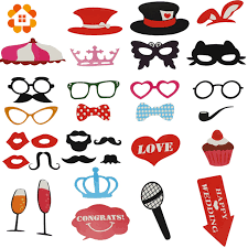Wedding Photo Booth Props Aliexpress Com Buy 31pcs Mustache On A Stick Wedding Party Photo