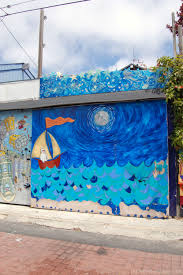 murals of balmy alley san francisco lili on the loose a tribute to archbishop oscar romero 2001 artist unknown