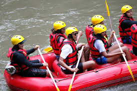 barack obama goes river rafting in bali during family vacation to