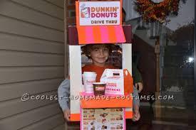 Donut Halloween Costume Homemade Dunkin U0027 Donuts Drive Costume