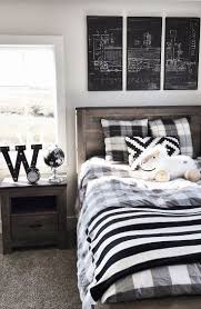 Black And White Bed 25 Best Plaid Bedding Ideas On Pinterest Plaid Bedroom Log