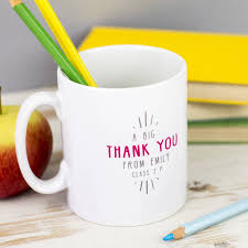 personalised u0027best teacher ever u0027 secret message mug by the little