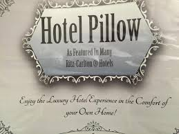 Pacific Coast Feather Bed Ritz Carlton Pillow Review The Sleep Sherpa