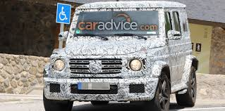 jeep mercedes rose gold mercedes amg g63 spied inside and out