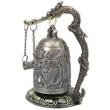 online buy wholesale dragon decoration from china dragon antique home decoration zinc alloy vintage style bronze lock dragon carved buddhist bell chinese geomantic artware