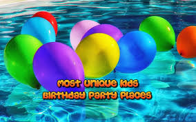 birthday places for kids you won t believe these unique birthday party places
