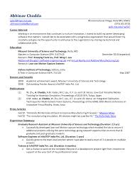 fresher resume format for engineers resume format for
