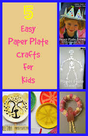 5 easy paper plate crafts for kids discountqueens com