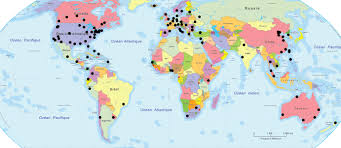 world map major cities lawyers associated worldwide and plg international lawyers