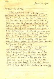 A Letter To Teacher Thanking You American Colonial Education In The Philippines Letters Of A