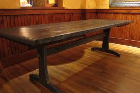 handmade rustic dining table by recollection design custommade com custom made rustic dining table
