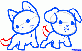 draw kawaii animals step by step anime animals anime