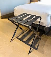 porte valise pour chambre accessoires et objets pour chambres et bain pour hôtels