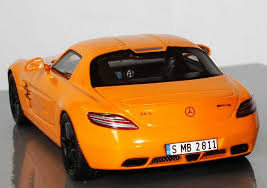 mercedes amg orange 1 43 mercedes sls amg orange mercedes museum limited