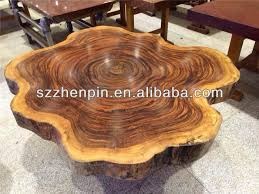 wood block dining table end grain super size solid slab wood block board dining table view