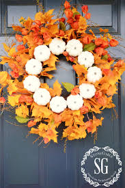 autumn wreath 26 easy diy fall wreaths best wreaths for fall