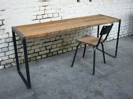 bureau metal et bois bureau fer et bois bureau fer bureau fer bois meetharry co