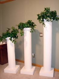 pillars in home decorating home decor pillars for home decor decorating idea inexpensive