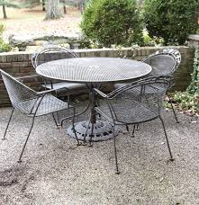 metal patio table and chairs metal outdoor patio table and chairs set ebth concept of outdoor