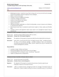 System Support Analyst Resume Hris Analyst Resume Sample Ace Operations Supervisor Resume