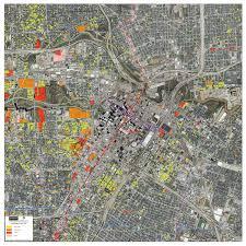 Birds Eye View Maps Maps Downtown Houston