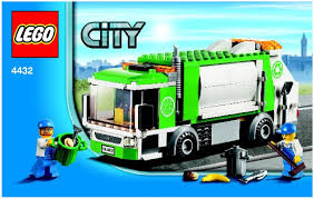 truck instructions city garbage truck instructions 4432 city