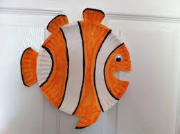 plate clownfish craft 3 funnycrafts