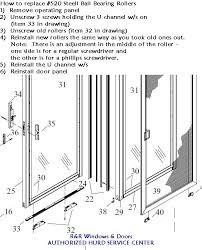 Replacing Patio Door Rollers by Hurd Hurd Window Replacement Parts Blog
