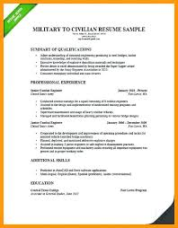 to civilian resume template army to civilian resume to civilian resume template