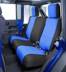 seat covers jeep wrangler all things jeep coverking neoprene rear seat covers for jeep