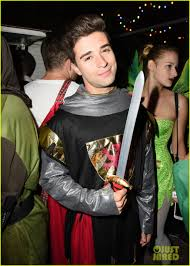 ross halloween costume r5 u0027s ross lynch couples up with courtney eaton at the jjaliens