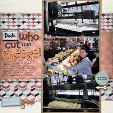 scrapbooking cuisine 626 best 3 photo scrapbook pages images on scrapbook