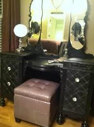 excellent vintage makeup vanity stool