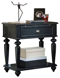 Black Wood Nightstand Captivating Black Wood Nightstand Traditional Black Nightstands