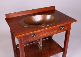Height Of A Vanity Stickley Brothers Server Converted To A Vanity Sink California
