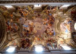 saint ignazi trompe l u0027oeil ceiling nothing better to really open