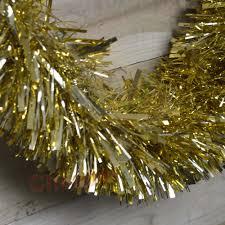 10m x 15cm luxury chunky cut tinsel garland christmas tree