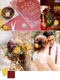 april wedding colors 12 fall wedding color combos to