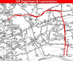 London Bus Map London Bus Route 139