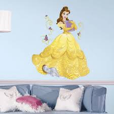 princess belle giant wall sticker great kidsbedrooms the home princess belle giant wall sticker
