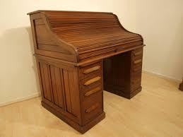 antique roll top secretary desk with hutch decorative desk
