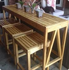Ballard Designs Patio Furniture Outdoor Bar Console And Counter Stools