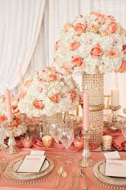 Themes For Wedding Decoration Best 25 Coral Wedding Centerpieces Ideas On Pinterest Coral