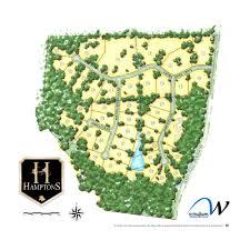Map Of The Hamptons Hamptons Site Plan The Hamptons Ncthe Hamptons Nc U2039