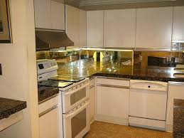 Mirrored Kitchen Backsplash Kitchen Wonderful Kitchen Backsplash Mirror Railing Stairs And