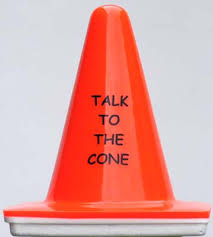 Desk Signs For Office Safety Cone Desk Signs Great Gift For Home Office