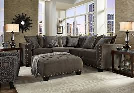 cindy crawford sofa sleeper picture of cindy crawford home sidney road gray 2 pc sectional