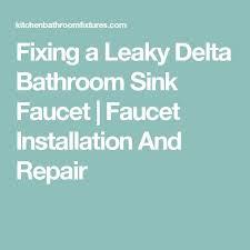 Delta Bathroom Faucet Installation Best 25 Delta Bathroom Ideas On Pinterest