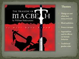 Blind Ambition In Macbeth Of All Shakespeare U0027s Plays Only Macbeth Is Set In Scotland Which